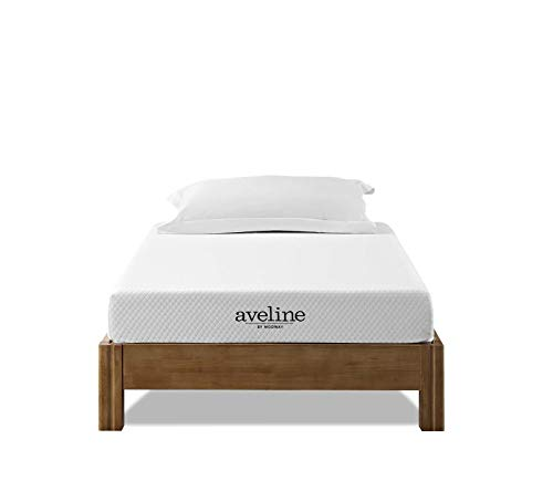 Modway Aveline 6' Gel Infused Memory Twin Mattress With CertiPUR-US Certified Foam, None