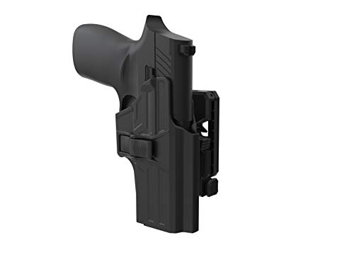 OWB Holster for Sig P320 Compact 9mm/.40, 360° Adjustable Paddle Belt Holster for Sig Sauer P320 M18/ X Compact/ P320 RX Compact/X Carry, Outside Waistband Open Carry Holster with Rapid Release, RH