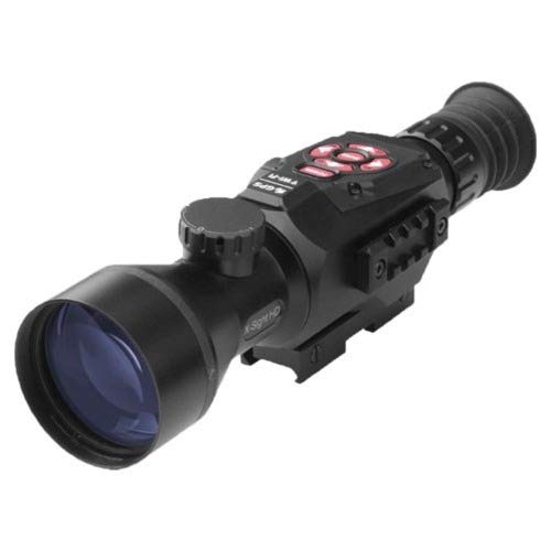 ATN X-Sight-II Smart Day/Night Hunting Rifle Scope with Full HD Video rec, WiFi, GPS, Smooth Zoom and Smartphone Controlling Thru iOS or Android Apps