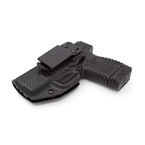 Relentless Tactical Stealth Mode IWB KYDEX Holster | Fits: Springfield XDS | Made in USA | Custom Molded Holster for Springfield XDS
