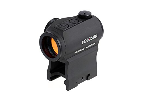 Holosun Paralow HS503G Red Dot Sight - ACSS CQB Reticle with Auto-On Function