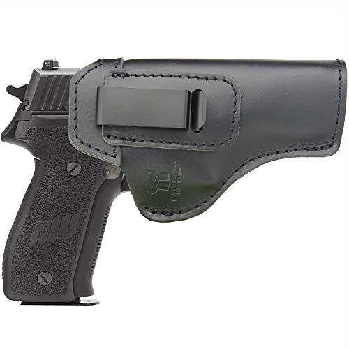 IWB Holster Leather for Inside Waistband Concealed Carry Fits: Sig sauer P220 P226 Full Size -Right Hand Draw