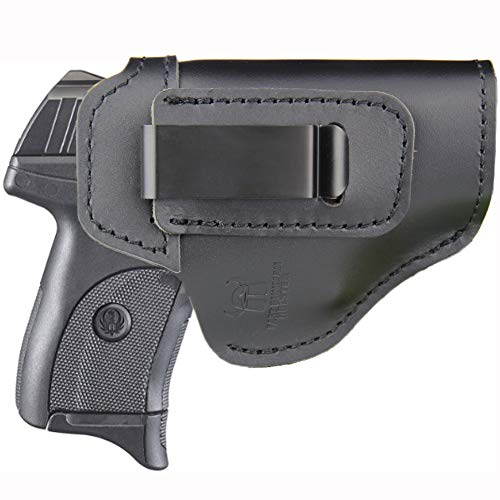 IWB Holster Fits:Ruger EC9S / LC9S / LC380 / SR22 - Inside Waistband Concealed Carry Pistols Holster (Right Side)