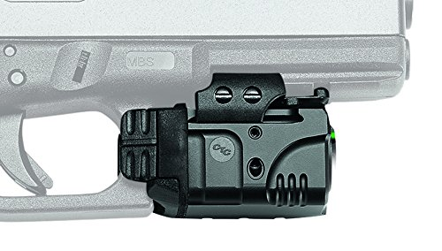 Crimson Trace CMR-204 Rail Master Pro Universal Green Laser & Tactical Light, Green Laser Sight