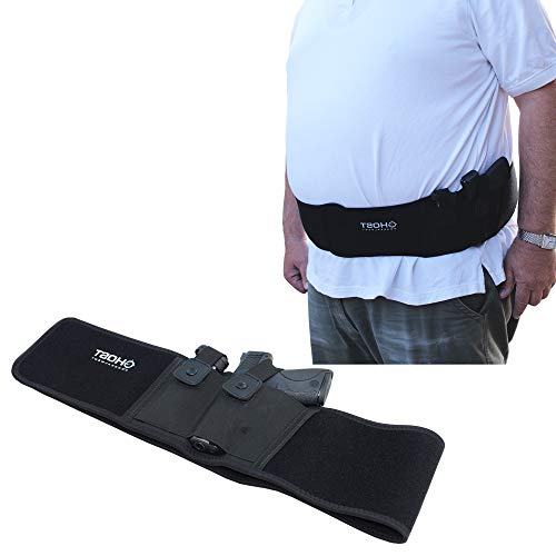Ghost Concealment Belly Band Holster for Concealed Carry   Fits up to a 54' Belly   IWB Gun Holsters   Men and Women