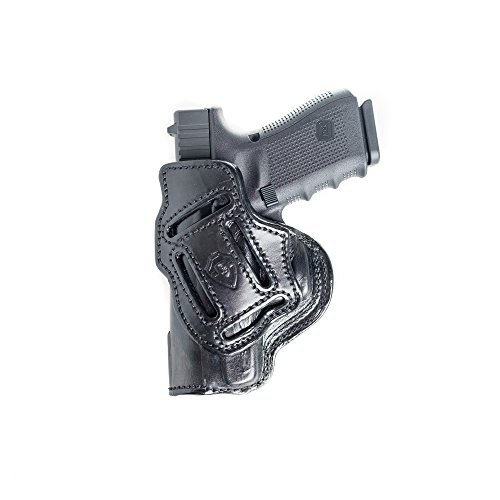 4 in 1 Leather Holster Fits Sig Sauer P220. IWB Inside Waistband Conceal or Outside Waistband OWB Holster.