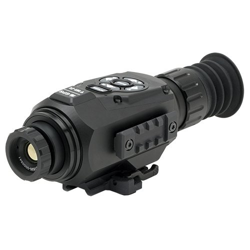ATN ThOR-HD 384 2-8x, 384x288, 25 mm, Thermal Rifle Scope w/ High Res Video, WiFi, GPS, Image Stabilization, Range Finder, Ballistic Calculator and IOS and Android Apps
