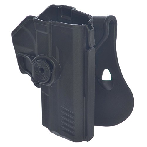 IMi CZ75 Retention Roto Holster Polymer Paddle Gun Holster for CZ 75 SP-01 Shadow, Tactical, Compact and Tactical Sports