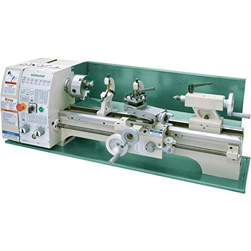 Grizzly Industrial G0602-10' x 22' Benchtop Metal Lathe