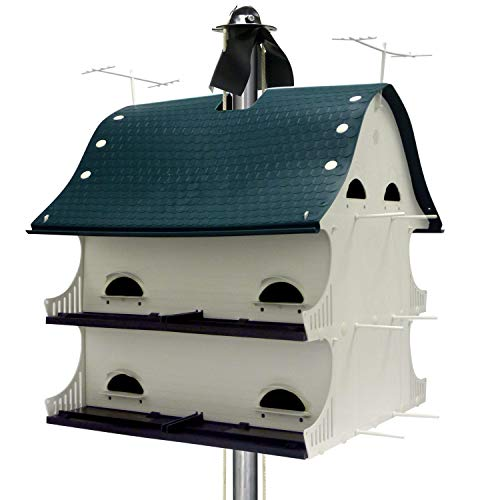 S & K Manufacturing American Barn Birdhouse - 12 Room, Model Number AB