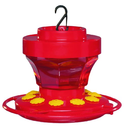 First Nature 993091-546 16 oz. Hummingbird Flower Feeder