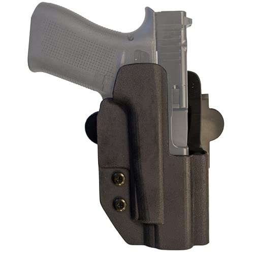 Comp-Tac International Holster - Compatible with Walther PPQ M2 5' 9mm .40, Q5 Match (Not Steel Frame) - Left Hand - Black