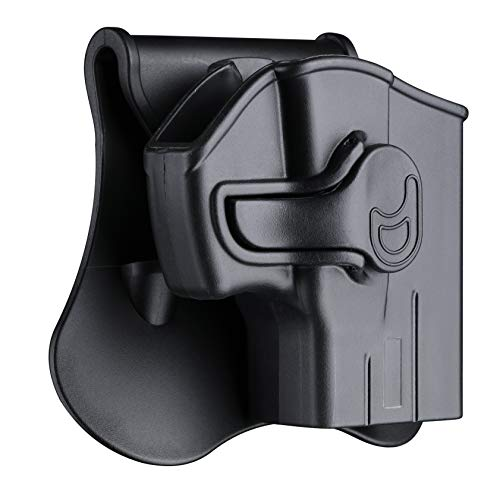 G2c Holsters, OWB Holster for Taurus G2C G3C G2S G3 TX22 Millennium G2 PT111 PT140 - Index Finger Released | Adjustable Cant | Autolock | Outside Waistband | Paddle Carry | Lightweight -Right Handed