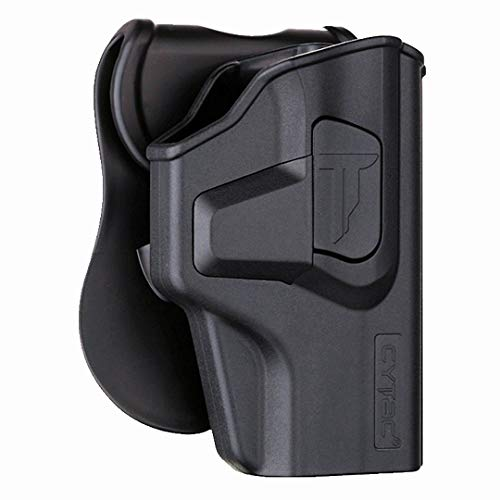 Sig P320 Holsters, OWB Holster for Sig Sauer P320 M18 Carry 3.9' / P320 X Carry / P320 X Compact - Index Finger Released   Adjustable Cant   Autolock   Outside Waistband   Matte Finish -Right Handed