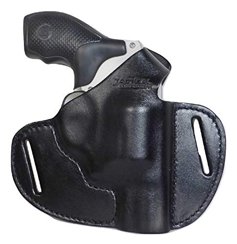Tactical Scorpion Gear Leather 2 Slot Holster Fits: Taurus 85 605 856 S&W 637/642/437