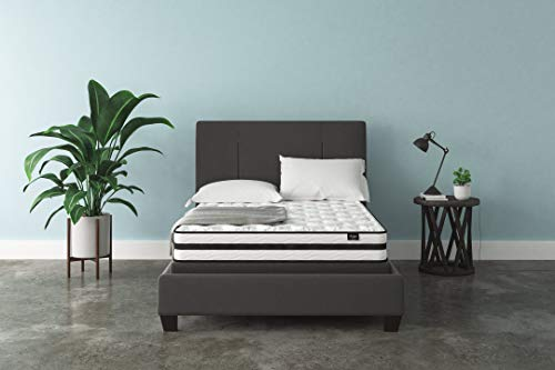 Signature Design by Ashley Chime 8 Inch Firm Hybrid Mattress, CertiPUR-US Certified Foam, Full