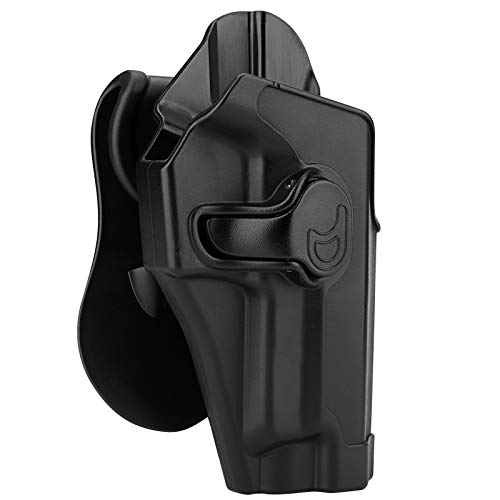 Sig P226 Holsters, OWB Holster for Sig Sauer P220 P226 4.4' Full Size/Bersa Thunder 9 Pro - Index Finger Released | Adjustable Cant | Autolock | Outside Waistband Carry | Lightweight -Right Handed