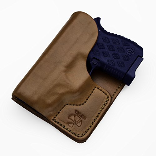 Talon Ruger LCP2/Taurus TCP Wallet Holster Right Hand Black No Laser