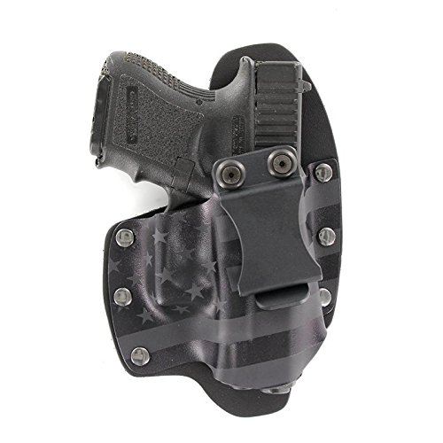 Stealth Black USA IWB Hybrid Concealed Carry Holster (Right-Hand, for Taurus TX22)