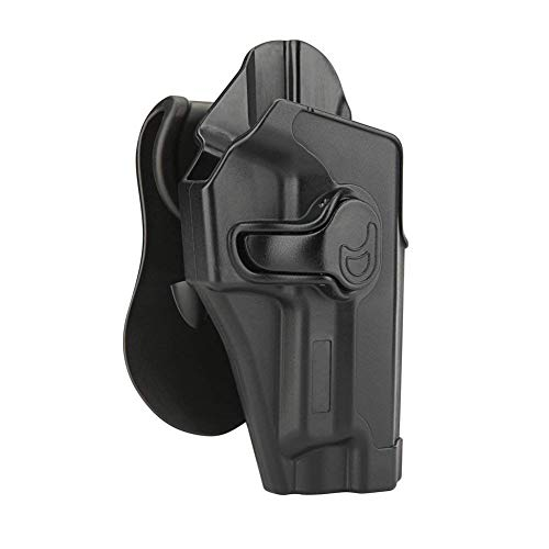 Bedone P226 Holster Compatible with Sig Sauer P226 Nitron/Legion/MK25 Full Size, Sig P220 4.4'' Barrel, OWB Paddle Holster, Tactical Polymer Gun Holster, 360° Adjustable - Right Handed
