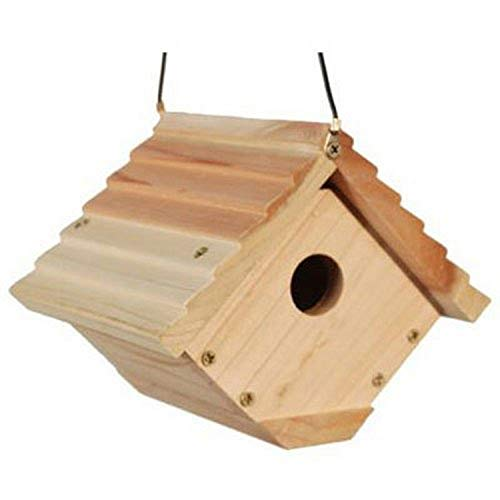 Woodlink Audubon Traditional Wren House Model NAWREN, white