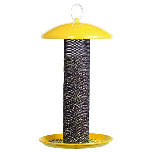 Perky-Pet 080086 YSSF00347 Shorty Finch Bird Feeder, Yellow