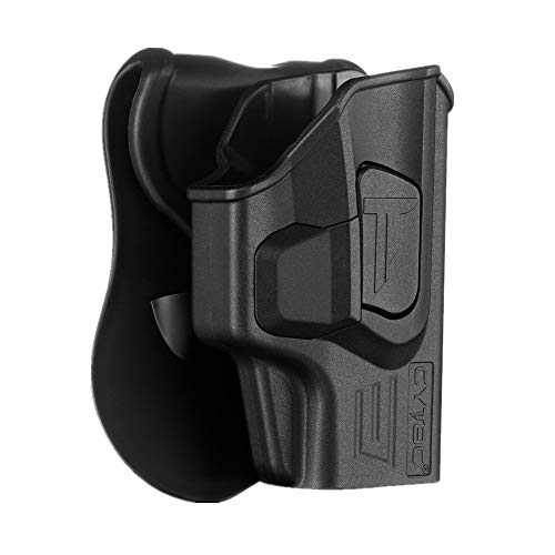 Springfield XD-S 3.3 Holsters, OWB Holster for Springfield Armory XD-S 9mm/.40/.45 3.3' /XD-S Mod.2 3.3' - Index Finger Released | Adjustable Cant | Autolock | Outside Waistband | Matte Finish -RH