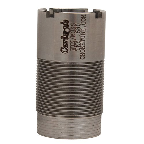 Carlson's Choke Tube Winchester-Browning Inv-Moss 500 12 Gauge Flush Mount Replacement Stainless Choke Tube, Turkey, Silver
