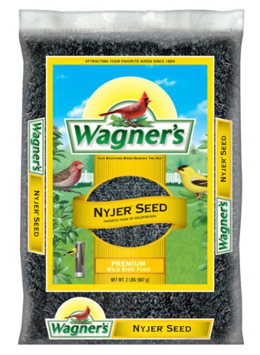 Wagner's 62047 Nyjer Seed Wild Bird Food, 2-Pound Bag