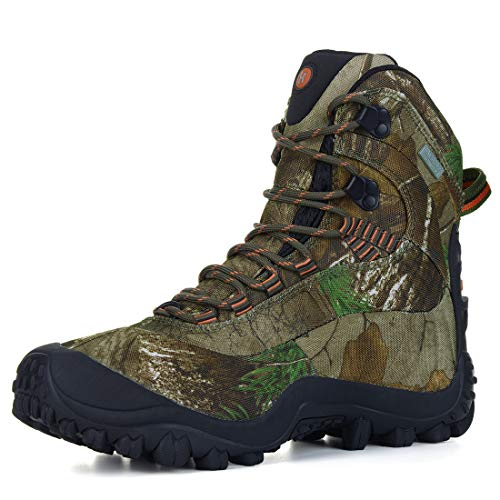 XPETI Men's Thermator Hiking Boots Mid Ankle Trekking Mountaineering Outdoor Boot