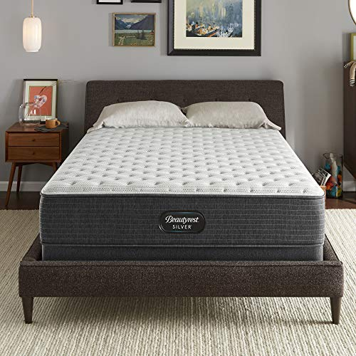 Beautyrest Silver BRS900 12 inch Extra Firm Innerspring Mattress, Cal King, Mattress Only