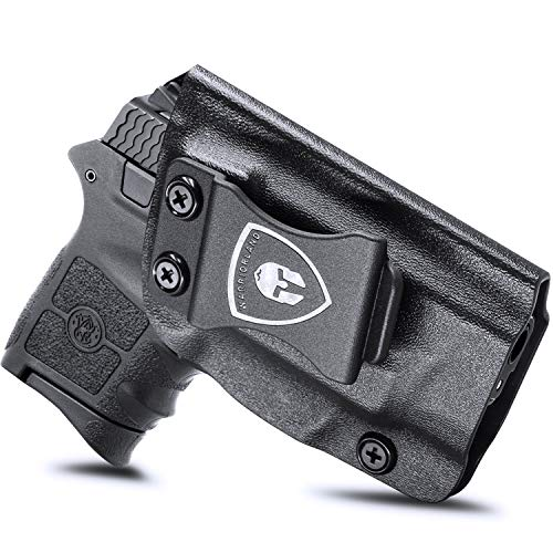 IWB KYDEX Holster Fit: S&W M&P Bodyguard 380 Auto & Integrated Laser Pistol, Inside Waistband Concealed Carry for Men / Women, Bodyguard 380 Holster, Adj. Cant / Retention