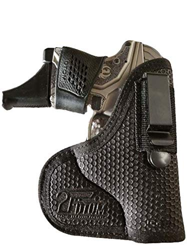 DTOM Combination Pocket/IWB Holster for Keltec P32 P3AT, Taurus 738 TCP 380, Ruger LCP 380, CC3 -Right Handed IWB