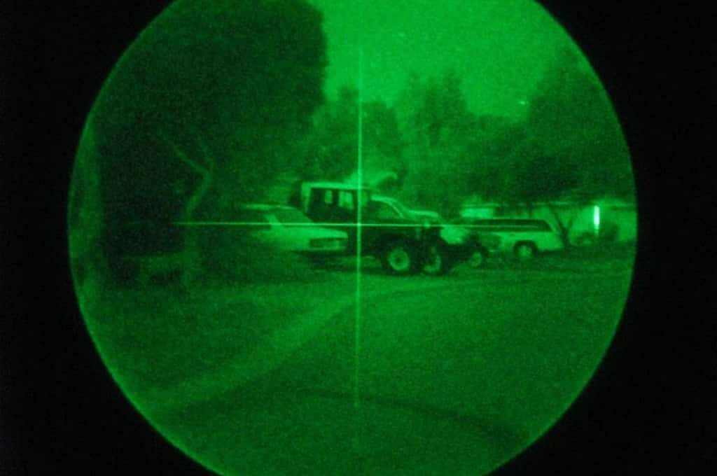 how to zero in your night vision rifle scope